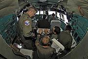 Indian Air Force IL-76 cockpit