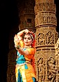 Indian Classical Dancer at Sun Temple, Modhera DSCN4459 1.jpg