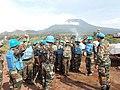 Indian contingent of MONUSCO in Goma, Congo (8229510150).jpg