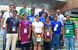 Indic Wikimedians gathering at Wikimania, 9 August 2013 in Hong Kong, by Subhashish Panigrahi (Own work) [CC-BY-SA-3.0 (http://creativecommons.org/licenses/by-sa/3.0)], via Wikimedia Commons