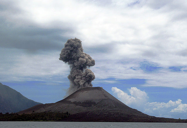 Volcano Krakatoa