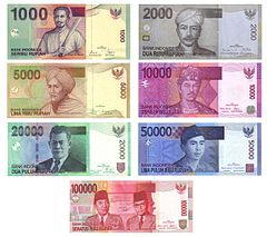 Billetes De Indonesia