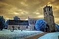 Infrared HDR St Mary's church Coddenham Suffolk (3376452763).jpg
