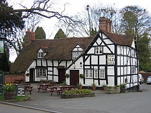 Inkberrow - Image: Inkberrow The Old Bull geograph.org.uk 2696