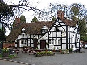 Inkberrow - Image: Inkberrow The Old Bull geograph.org.uk 2696