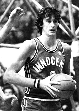 Kim Hughes (basketball) - Hughes with Innocenti Milano in the 1974–75 season