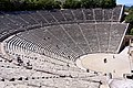 Inside the Great Theatre of Epidaurus on 23 May 2019.jpg
