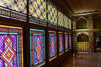 Palace of Shaki Khans - Interior of the Consultation Room