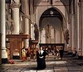 Interior of the Sint-Laurenskerk in Rotterdam by Cornelis de Man.jpg
