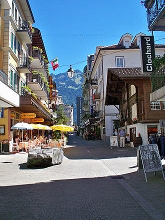 Interlaken - Jungfraustrasse