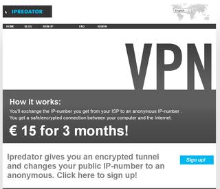 IPredator VPN Proxy Provider