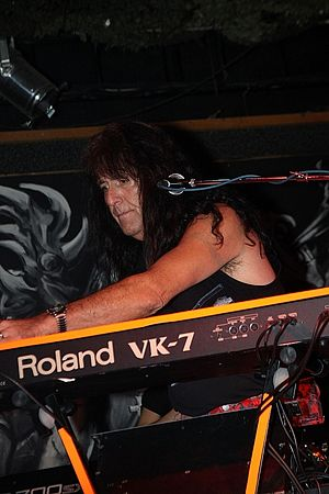 Martin Gerschwitz - Martin Gerschwitz with Iron Butterfly in Prague on 7 October 2010