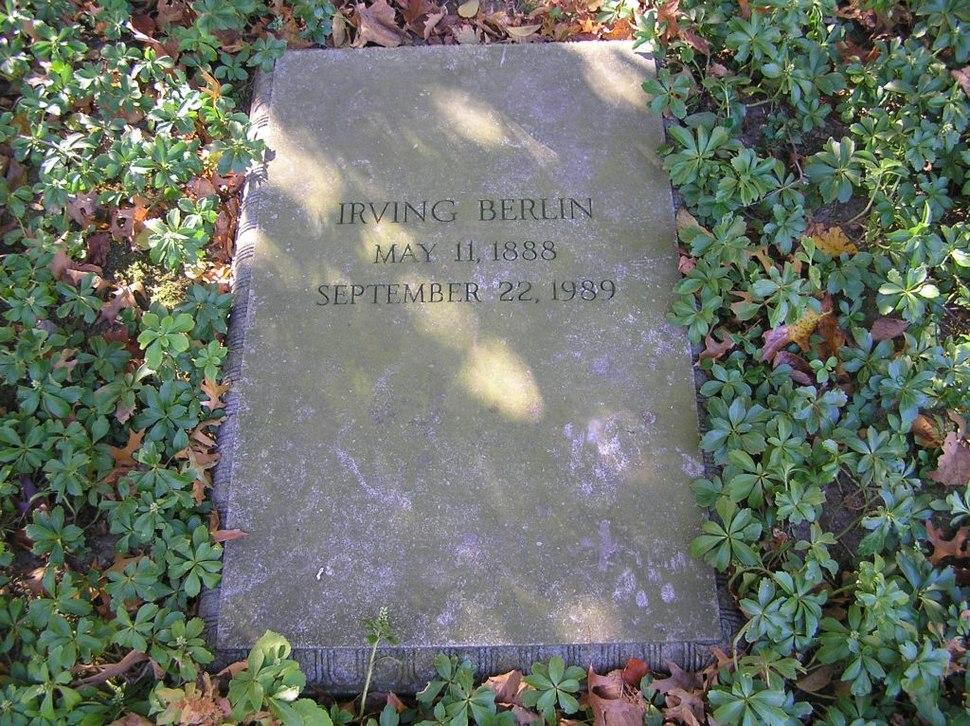Irving Berlin Grave 1024