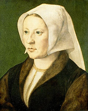 Isabella of Austria - Portrait by Mabuse