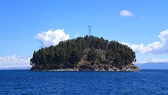 Copacabana Municipality, La Paz - Chelleca island, Lake Titicaca