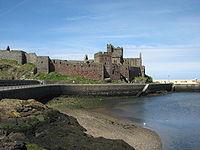 El castillo de Peel.