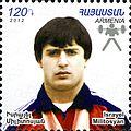 Israel Militosyan 2012 Armenia stamp.jpg