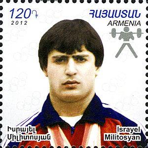 Israel Militosyan - Image: Israel Militosyan 2012 Armenia stamp