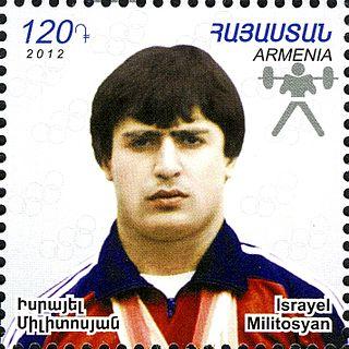Israel Militosyan Soviet weightlifter
