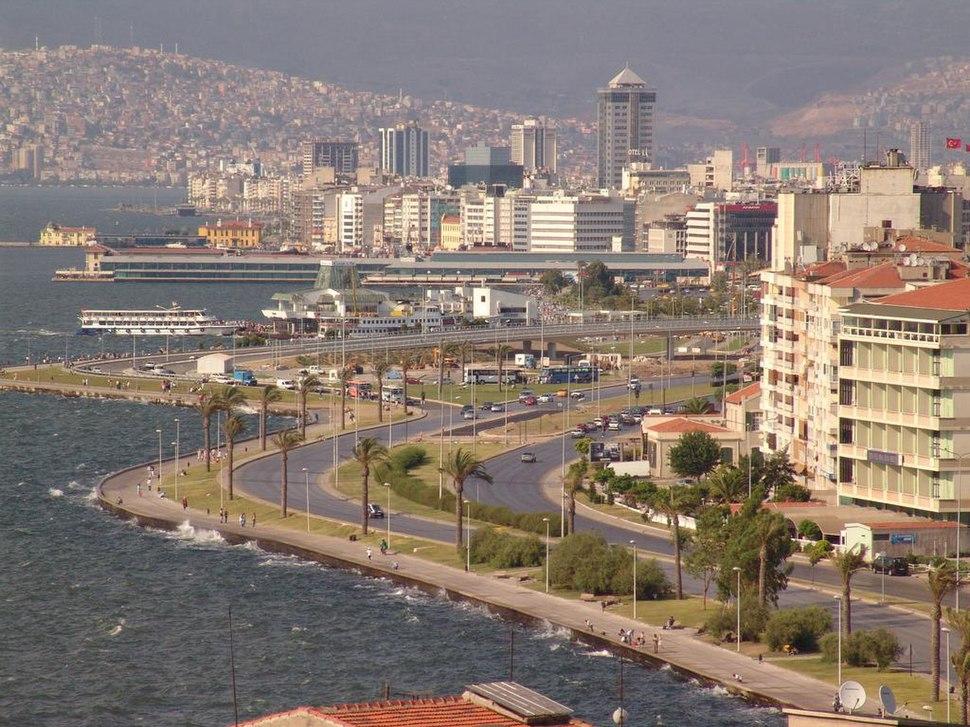 Izmir coast