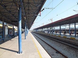 İzmit station - Izmit railway station in 2011 before renovation.