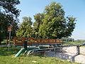 Jázmin utcai Által-ér híd. (ÉK) - Komárom-Esztergom megye, Tata.JPG