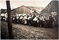 Jędrzejów. Ul. Strażacka. Pierwszy transport Żydów z getta do niemieckiego obozu zagłady w Treblince, 16.IX.1942.jpg