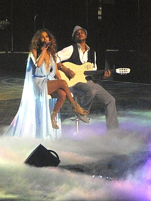 "Dance Again World Tour - Lopez during a stripped-down performance of ""If You Had My Love"" (acoustic version)."