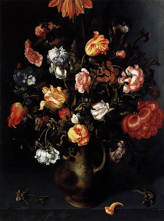 Filejacob Woutersz Vosmaer A Vase With Flowers Wga25340g