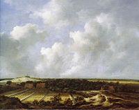 Jacob van Ruisdael - View of the Dunes near Bloemendaal with Bleaching Fields.jpg