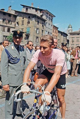 1967 Giro d'Italia - Image: Jacques Anquetil 1967