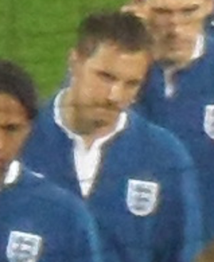 Phil Jagielka - Jagielka lining up for England in 2010