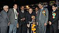 Jaipal Reddy lighting the lamp to inaugurate the function of Oil & Gas Conservation Fortnight 2012, in New Delhi on January 18, 2012. The Secretary, Ministry of Petroleum and Natural Gas, Shri G.C. Chaturvedi is also seen.jpg