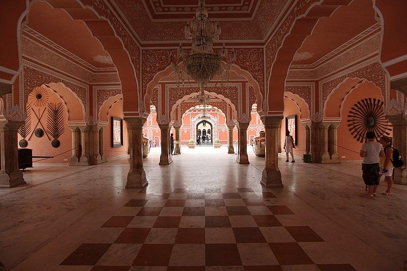 Diwan-i-khas at the City Palace Jaipur