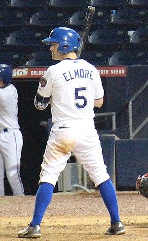 Jake Elmore - Elmore with the Durham Bulls