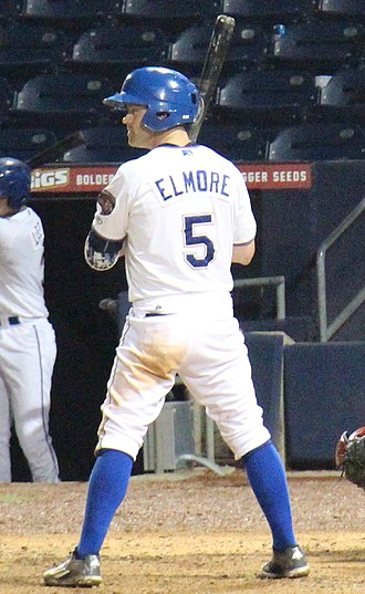 Jake Elmore - Elmore with the Durham Bulls