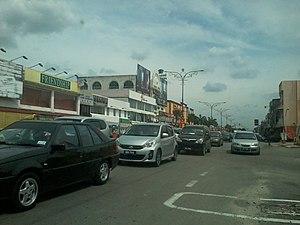Banting - Main street of Banting, Jalan Sultan Abdul Samad