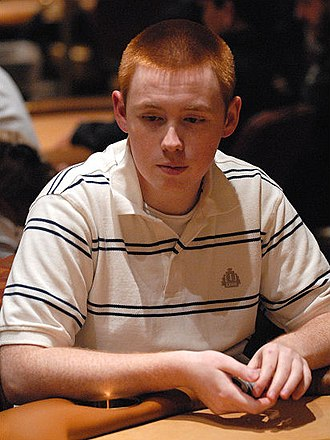 James Mackey - Mackey at the $15,000 buy-in National Poker League's Vegas Open Championship in 2007.