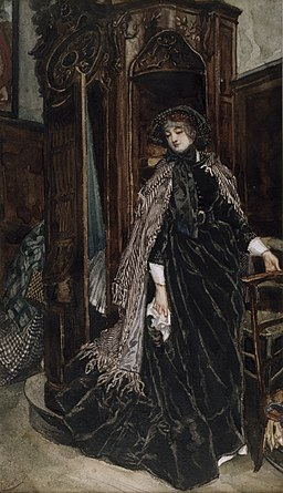 James Tissot - The Confessional - Walters 371374