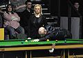 Jamie Burnett and Maike Kesseler at Snooker German Masters (DerHexer) 2013-01-30 02.jpg