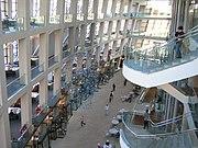Jan 14 06 interior Salt Lake City library 2 UT USA