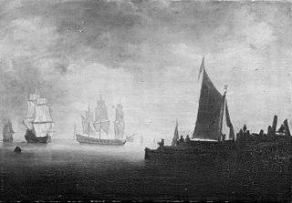 Ships by a Wharf