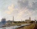 Jan de Vos I - Gezicht op Delft vanaf de Vliet vanuit het noorden.jpg