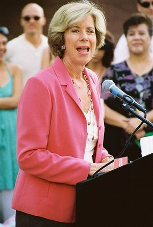 Janice Hahn - Hahn giving a speech in 2007