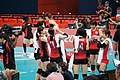 Japan women's national volleyball team at the 2012 Summer Olympics (7914008350).jpg