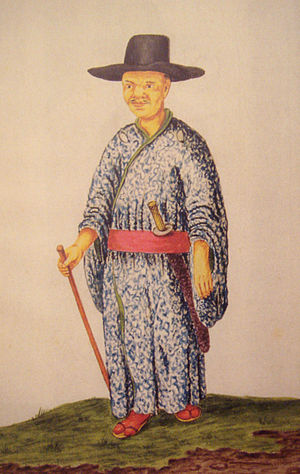 Andries Beeckman - Image: Japanese Christian in Jakarta circa 1656 by Andries Beeckman