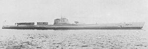 Junsen type submarine - I-7 in 1937