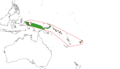 Japenoides range map.png