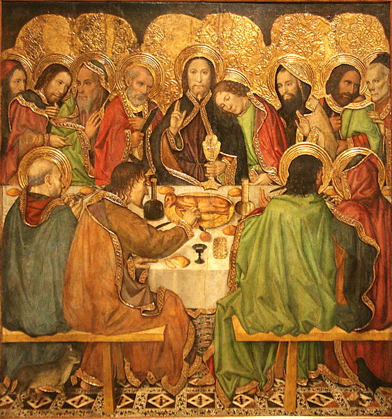 File:Jaume Huguet - Last Supper - WGA11797.jpg