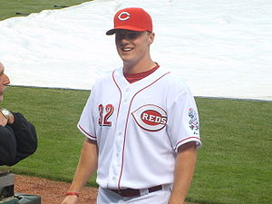Jay Bruce before his MLB Debut in May of 2008